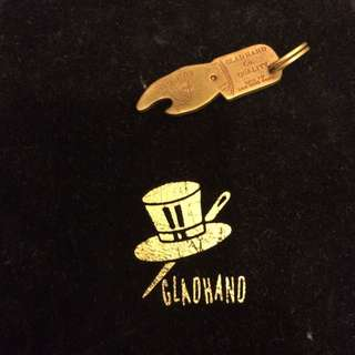 日本高端西岸品牌 Glad Hand You Pay黃銅墜飾 開瓶器