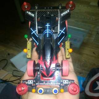Tamiya BEAK SPIDER + RED FALCON SPECIAL + All Part