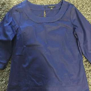 Purple Banana Republic Blouse
