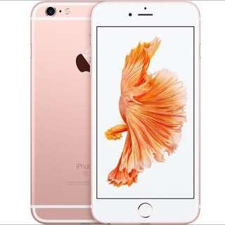 128gb iPhone 6S PLUS Rose Gold