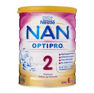 Nestle NAN Optipro 2 (after 6mths) - 400g
