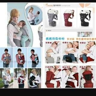 多功能背帶 透氣舒適 輕輕鬆鬆帶孩子出門嚕