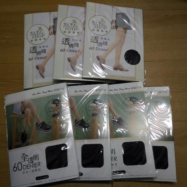 耐勾絲襪(黑,60丹)