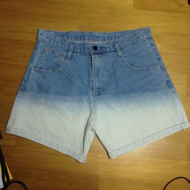 古著 牛仔短褲