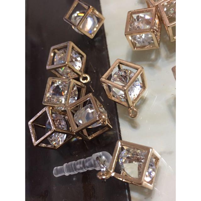 🎀客製 手機防塵塞 鑽石款💎💎
