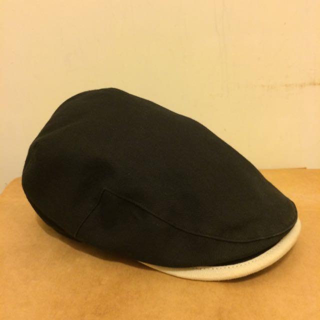 日本品牌 Ca4La 黑色小偷帽 狩獵帽 日本製