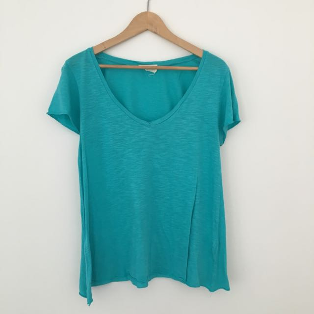 American Vinatage Turquoise T-shirt