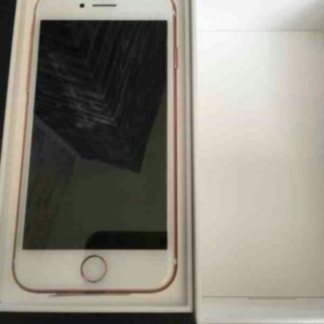 Apple iPhone 7  Factory GSM Unlocked 128GB Rose Gold Clean Clear Latest Model