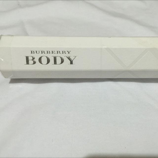Authentic Burberry Body Perfume