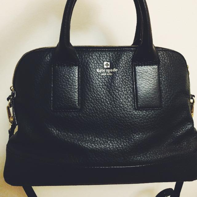 Black Kate Spade Large Satchel