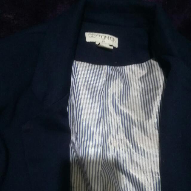 Blue Cotton On Blazer