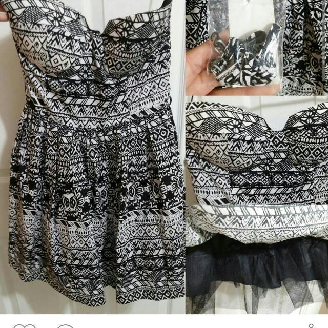 BNWT -  Strapless Tutu Dress