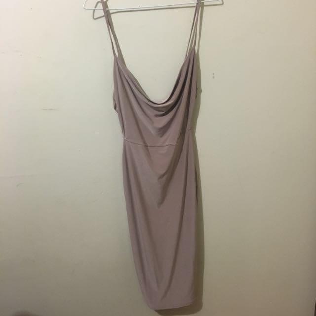 Boohoo Slinky Dress