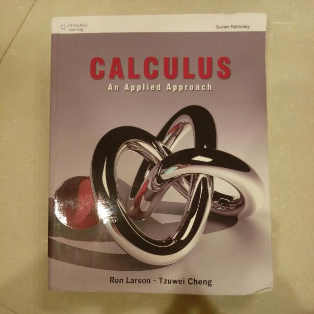 Caculus An Applied Approach 原文書