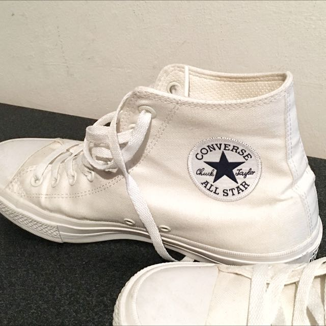 1cdcbc709d25 Classic Pair Of High Cut Converse Shoes