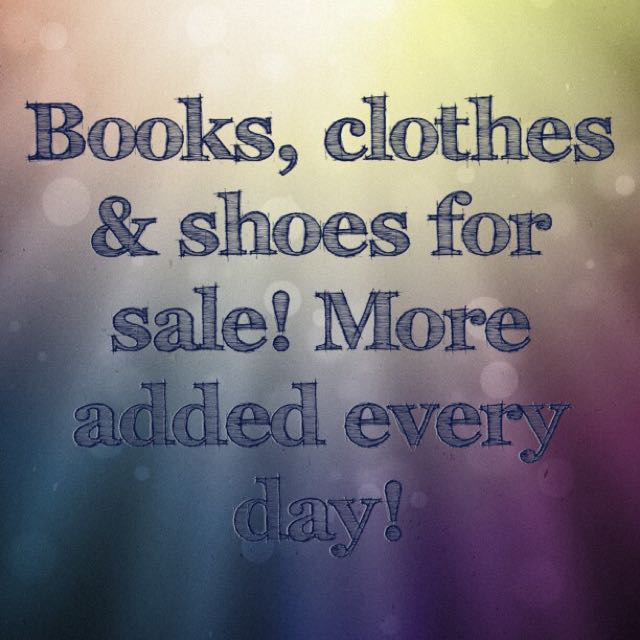 Clothes Shoes And Books - Check Out My Profile!