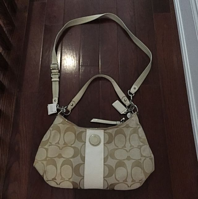 Coach Convertible Hobo Bag