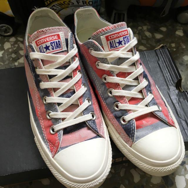 Converse 美國風帆布鞋