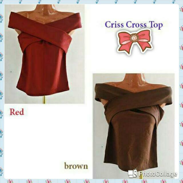 Criss Crosa Top