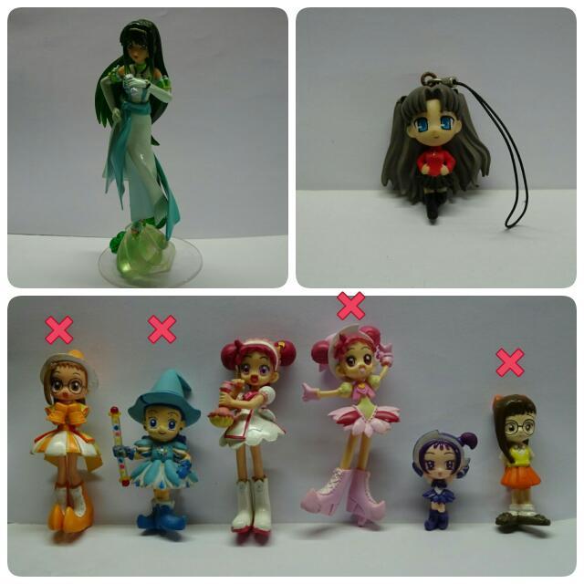 小魔女DoReMi/真珠美人魚/光之美少女/美少女戰士 公仔/玩具/卡片/墊板 卡通週邊