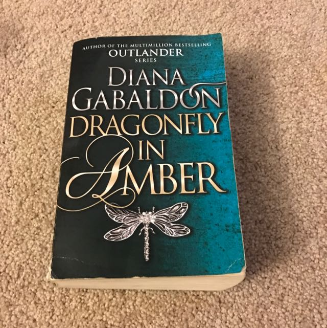 Dragonfly In Amber By Diana Gabaldon, Book 2 Of The Outlander Series
