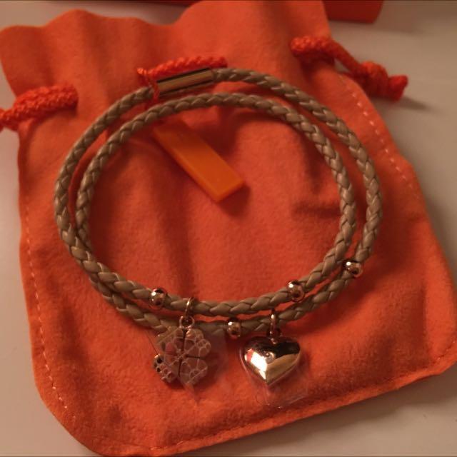 Folli Folli 皮繩 手鍊 手環