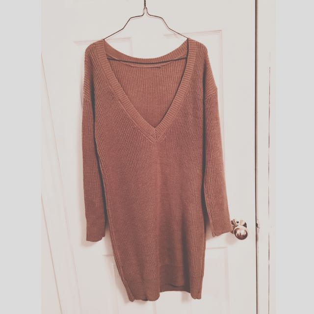 Forever 21 Caramel Seeater Dress