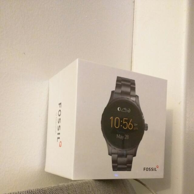 Fossil Q Men's Smart watch (gunmetal stainless steel)
