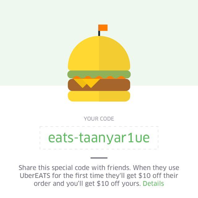 FREE FOOD - UBER EATS!!!