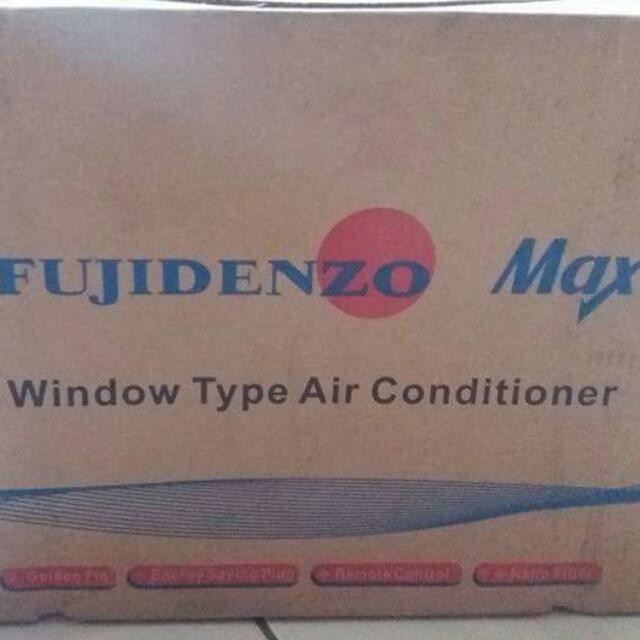 Fujidenzo Window Type AC