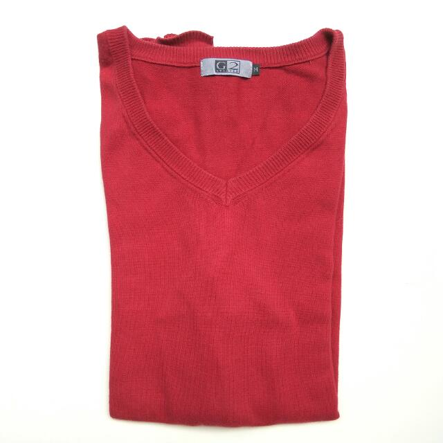 G2 Sweater M Red
