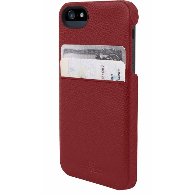 Genuine Hex iPhone SE/5/5S Solo Wallet Case / Cover - Torino Red