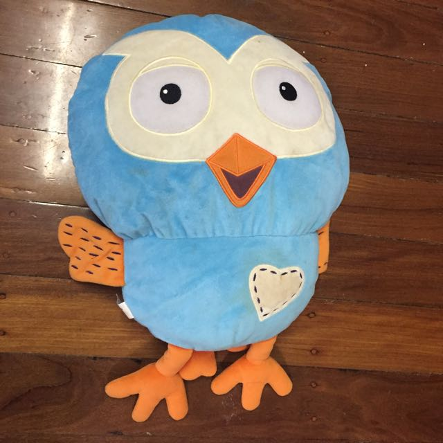 Giggle & Hoot Soft Toy Pillow