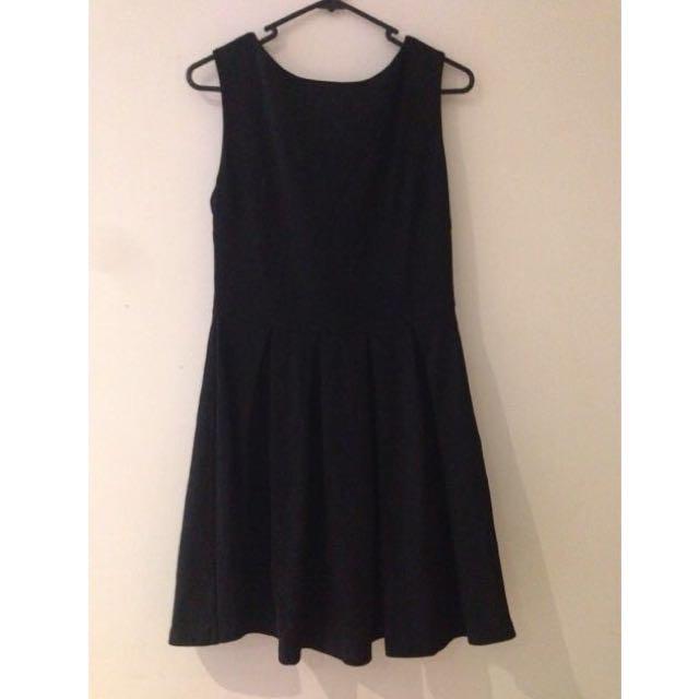 Maxim Black Dress