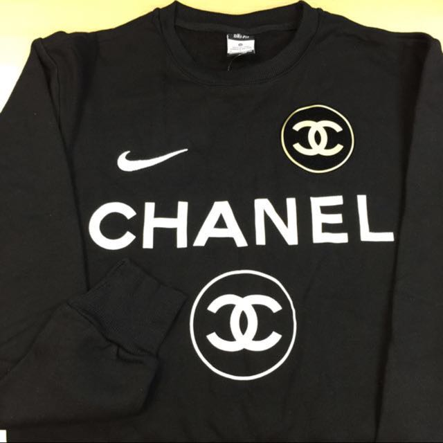 nike x chanel x coco sweater pullover men 39 s fashion clothes on carousell. Black Bedroom Furniture Sets. Home Design Ideas