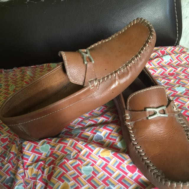 otto brown leather shoes