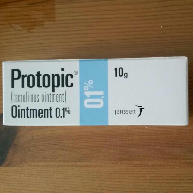 Protopic Tacrolimus Ointment Health Beauty Bath Body On Carousell