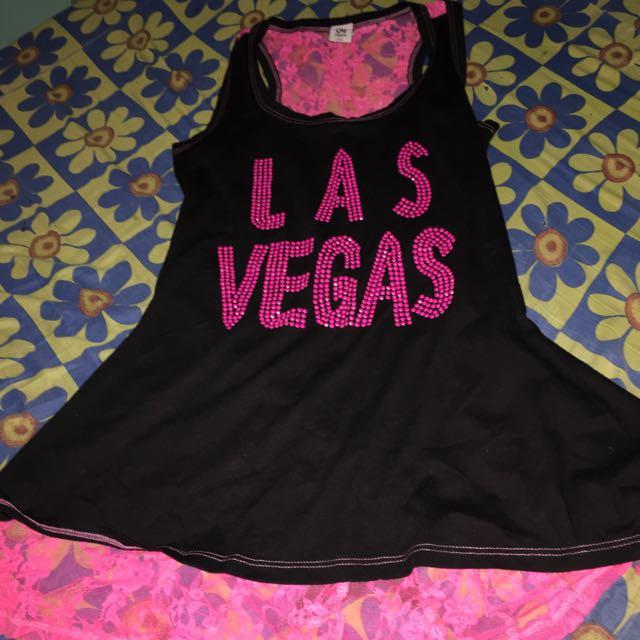 Racer Back-See Thru Mini Dress (Las Vegas)