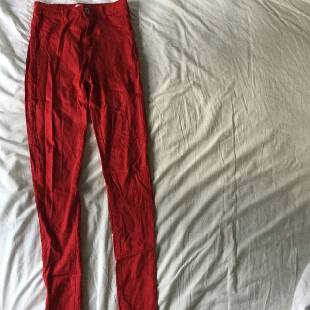 RED Valleygirl Skinny Jeans.