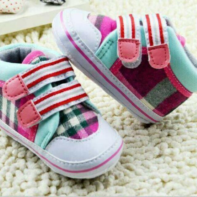 Sepatu anak bayi new born usia 0 - 6 bulan lucu dan keren