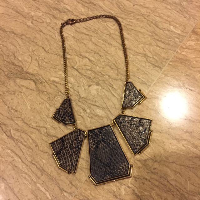 Snake Skin Necklace