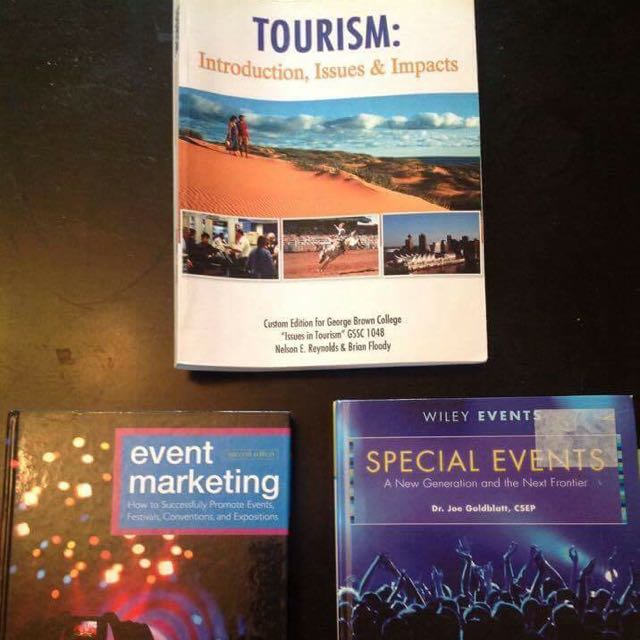 Special Event Planning Textbooks