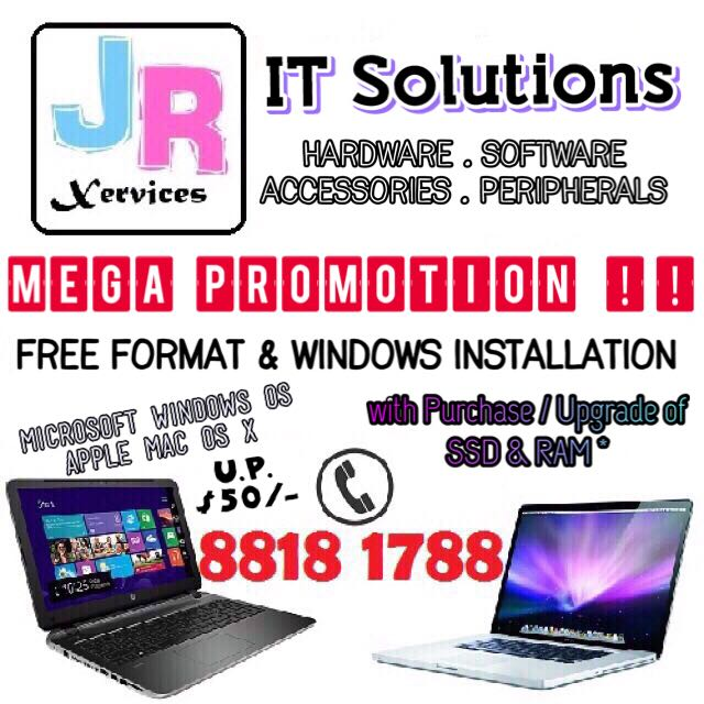 SSD HDD Windows Mac Repairs, Electronics, Computer Parts