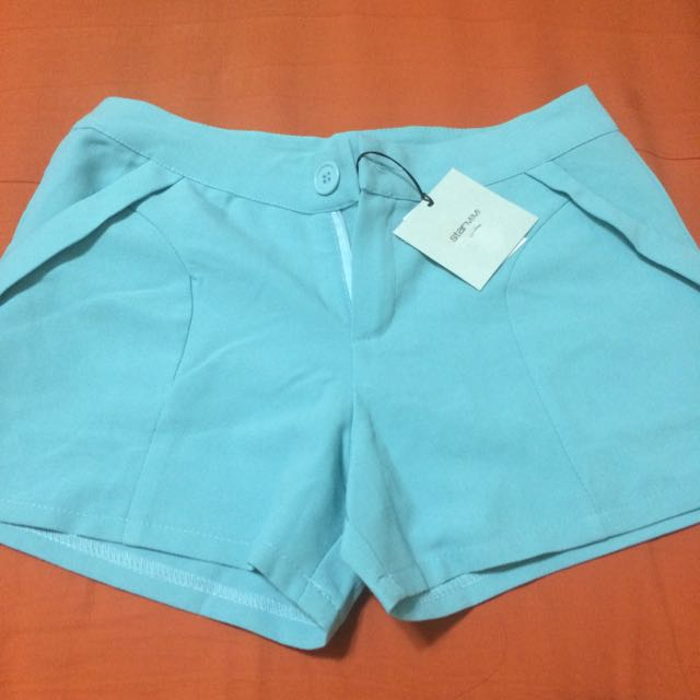 Starmini Tiffany綠 西裝短褲