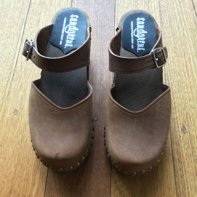 Swedish Sandgrens Clogs