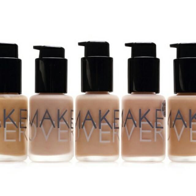 Ultra Cover Liquid Matte Foundation Make Over