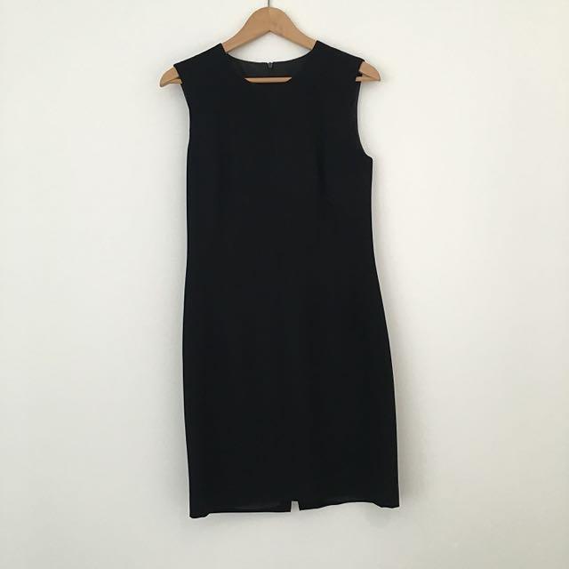 Vintage Carla Zampatti Black Dress