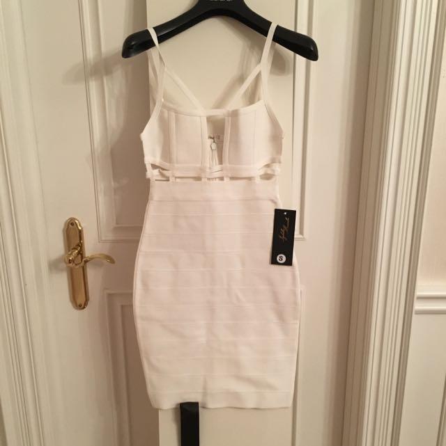 White Bandage Mini Dress