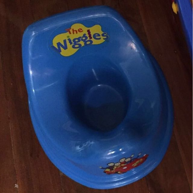 Wiggles Toddler Training Potty Toilet Seat
