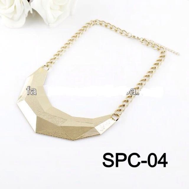 Woman Gold Necklace